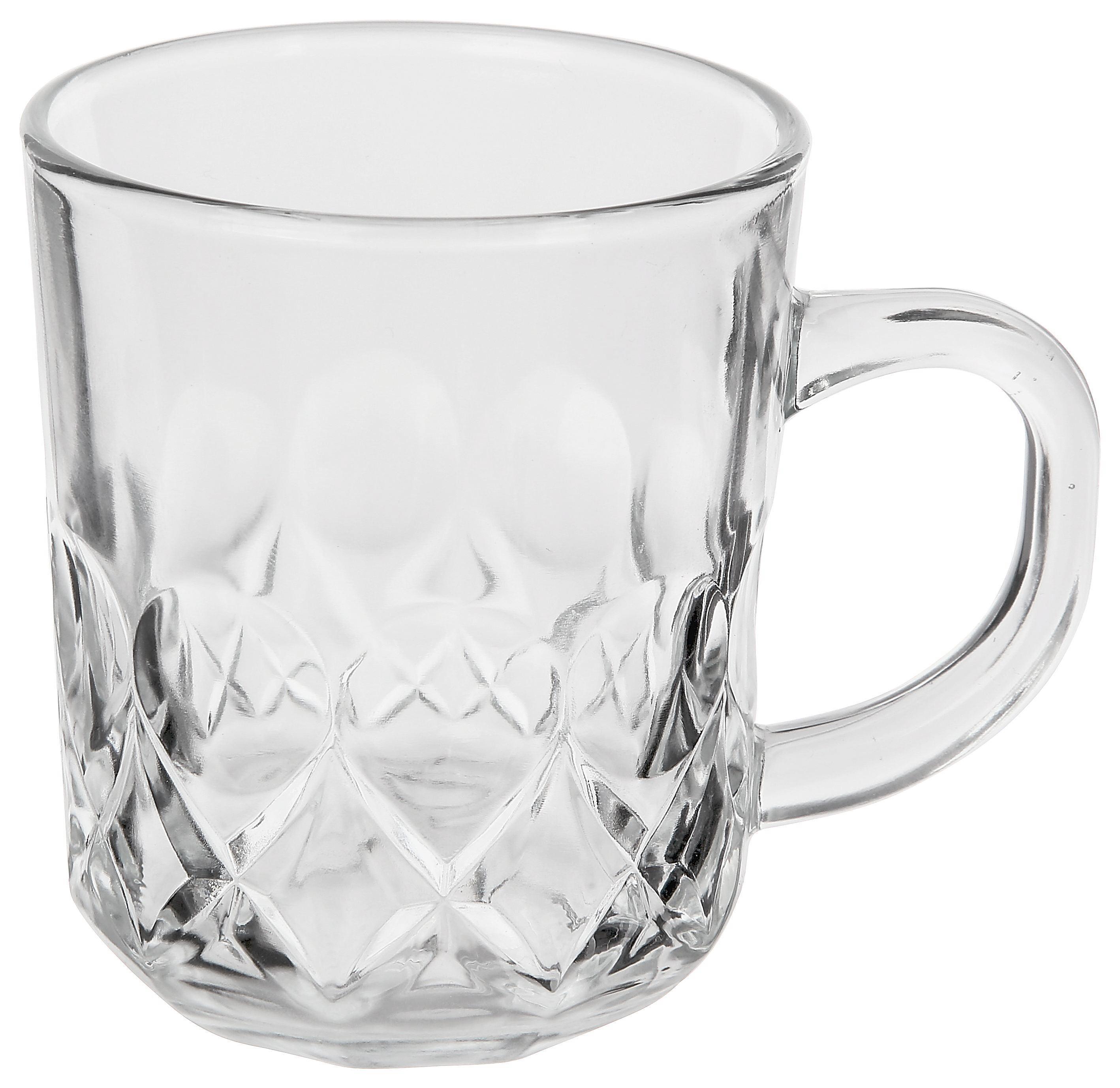 Skodelica Laura - prozorna, steklo (0,24l)