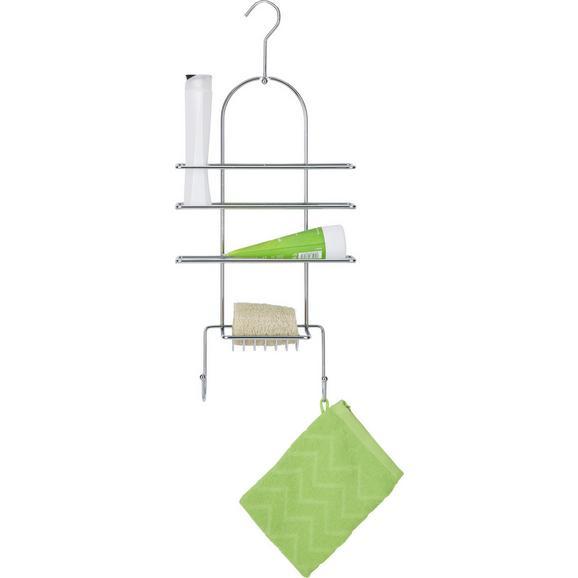 Duschregal Chromfarben - Chromfarben, Metall (60/40/27cm) - Mömax modern living