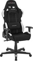 Gamingstuhl Schwarz/Weiß - Schwarz/Weiß, Kunststoff/Textil (78/124-134/52cm) - Dxracer