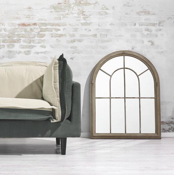 Spiegel Bianca - Sandfarben, KONVENTIONELL, Glas/Metall (69/88/4cm) - Premium Living