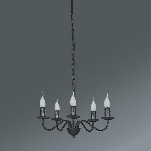 Viseča Svetilka Klara - črna, Romantika, kovina (46/81cm) - Mömax modern living