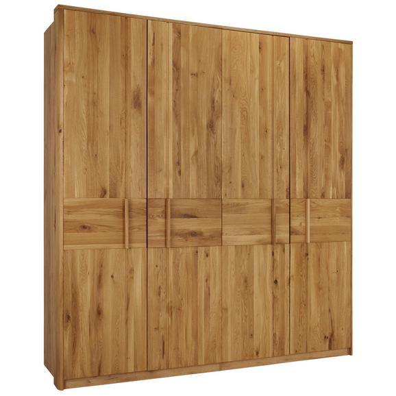 Drehtürenschrank in Eichefarben - Eichefarben, KONVENTIONELL, Holz/Holzwerkstoff (206/223/63cm) - Premium Living
