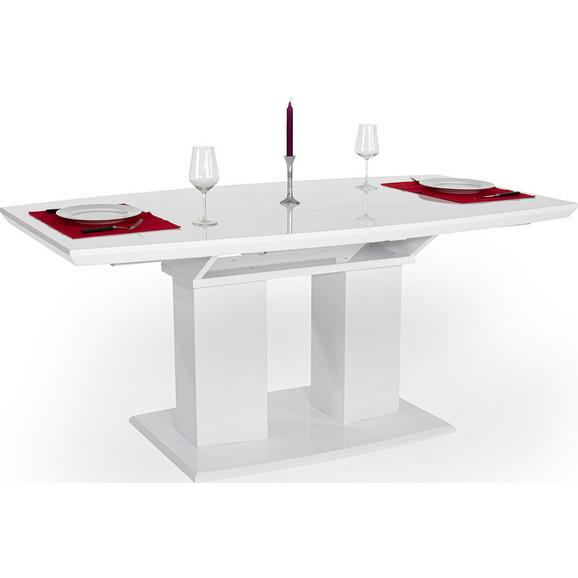 Jedilna Miza Malvin Ca. 180x90 Cm - bela, Moderno, leseni material (180/76/90cm) - Mömax modern living
