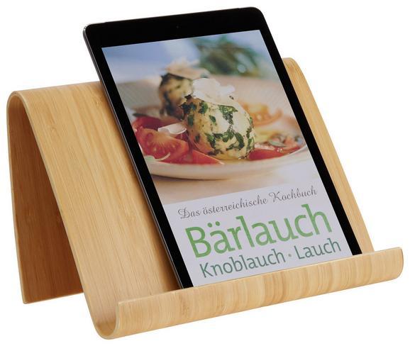 Buchständer Woody in Naturfarben - Naturfarben, KONVENTIONELL, Holz (27/16/16cm)