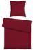 Bettwäsche Marion Bordeaux 135x200cm - Bordeaux, KONVENTIONELL, Textil (135/200cm) - Premium Living