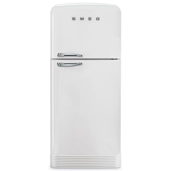 Kühl-Gefrier-Kombination FAB50RWH - Weiß (80/187,5/61,5cm) - SMEG