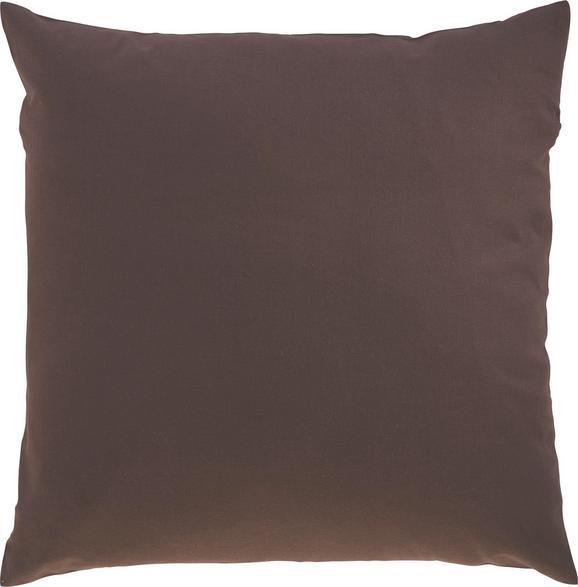 Zierkissen Zippmex Braun ca. 50x50cm - Braun, Textil (50/50cm) - Based