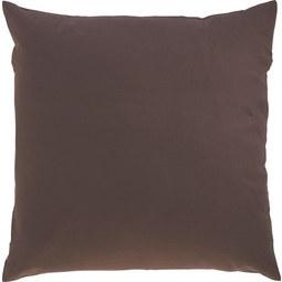 Zierkissen Zippmex in Braun, ca. 50x50cm - Braun, Textil (50/50cm) - Based