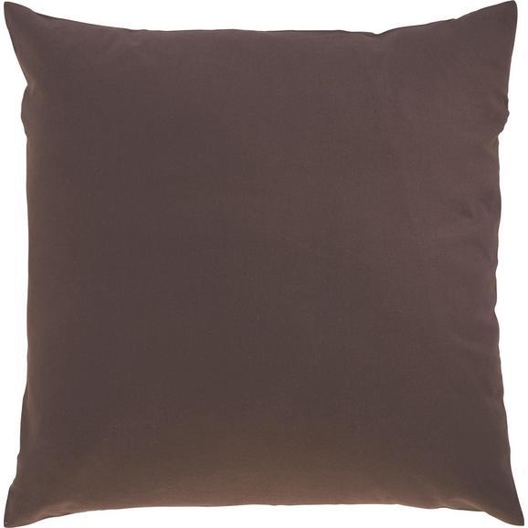 Zierkissen Zippmex in Braun ca. 50x50cm - Braun, Textil (50/50cm) - Based