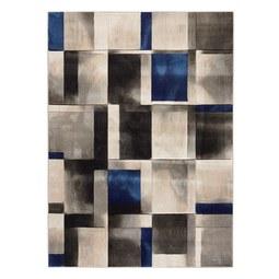 Webteppich Caroline ca. 120x170cm - Blau/Grau, MODERN, Textil (120/170cm) - Mömax modern living