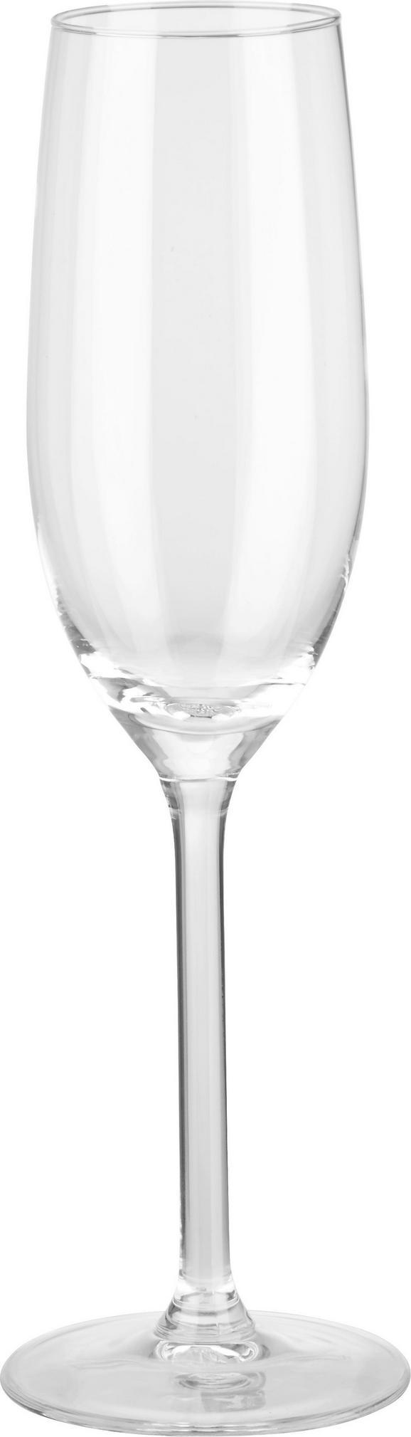 Sektglas Leona ca. 210ml - Klar, Glas (5,6/22,9cm) - Mömax modern living