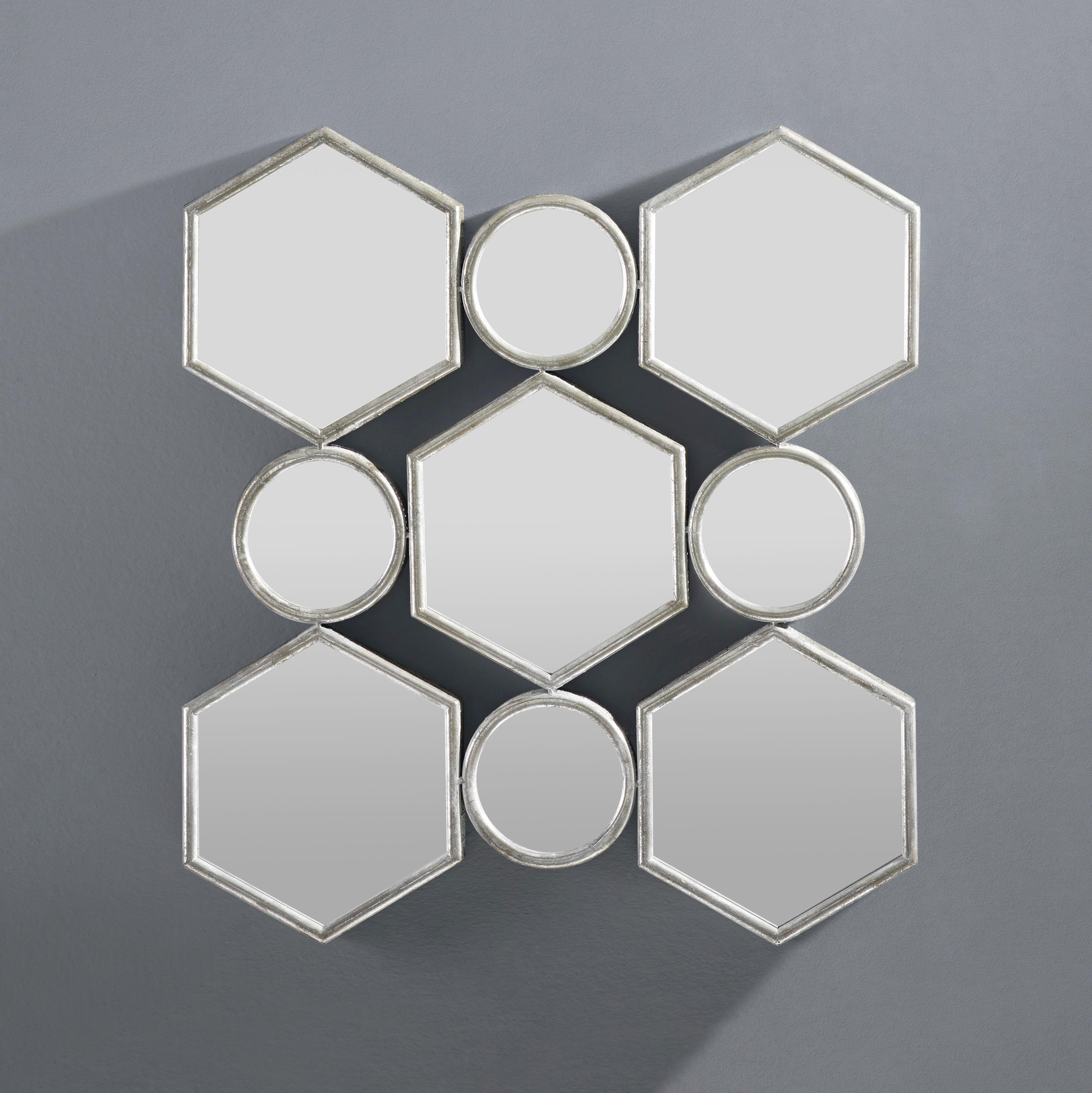 Wandspiegel Beni - Silberfarben, MODERN, Glas/Holzwerkstoff (88/85,5/6,5cm) - MÖMAX modern living