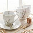 Cană Pentru Cafea Harry - alb, Basics, ceramică (10/10cm)