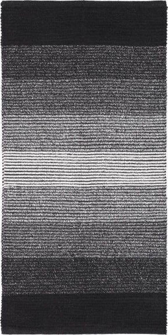 Fleckerlteppich Malto - Schwarz, MODERN, Textil (70/140cm) - MÖMAX modern living