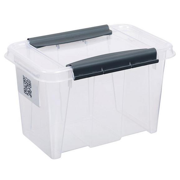 Aufbewahrungsbox Chaos ca. 6l - Transparent, MODERN, Kunststoff (29/19,5/18,5cm)