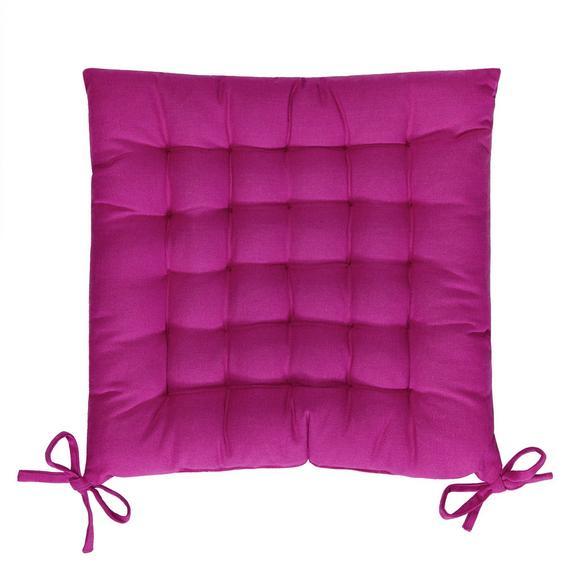 Sitzkissen Anke in Pink, ca. 40x40cm - Pink, Textil (40/40cm) - Mömax modern living