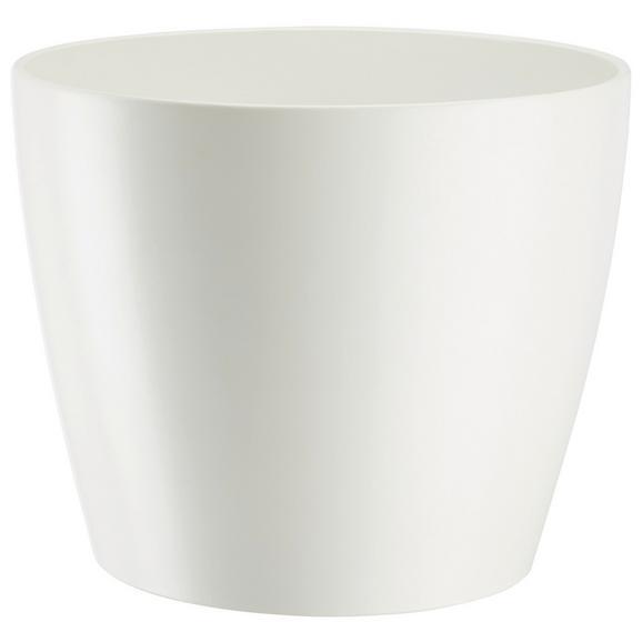 Ghiveci Decorativ Luisa - alb/roz, Modern, ceramică (19/16cm) - Modern Living