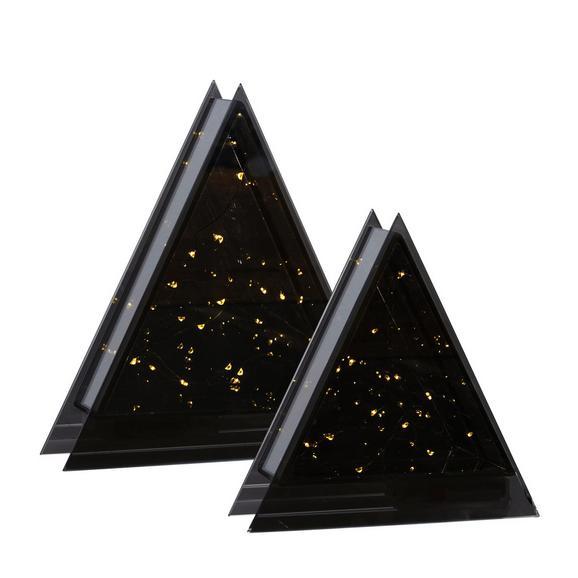 Okrasno Drevo Ben - skrilavec, steklo (20/20/6,5cm)