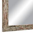 Wandspiegel Braun/Grau, ca. 60x80cm - Braun/Grau, MODERN, Glas/Holzwerkstoff (60/80cm)