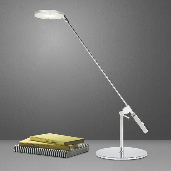 LED-Tischleuchte Rio - Chromfarben, Kunststoff/Metall (39,5/15,3/38cm) - MÖMAX modern living