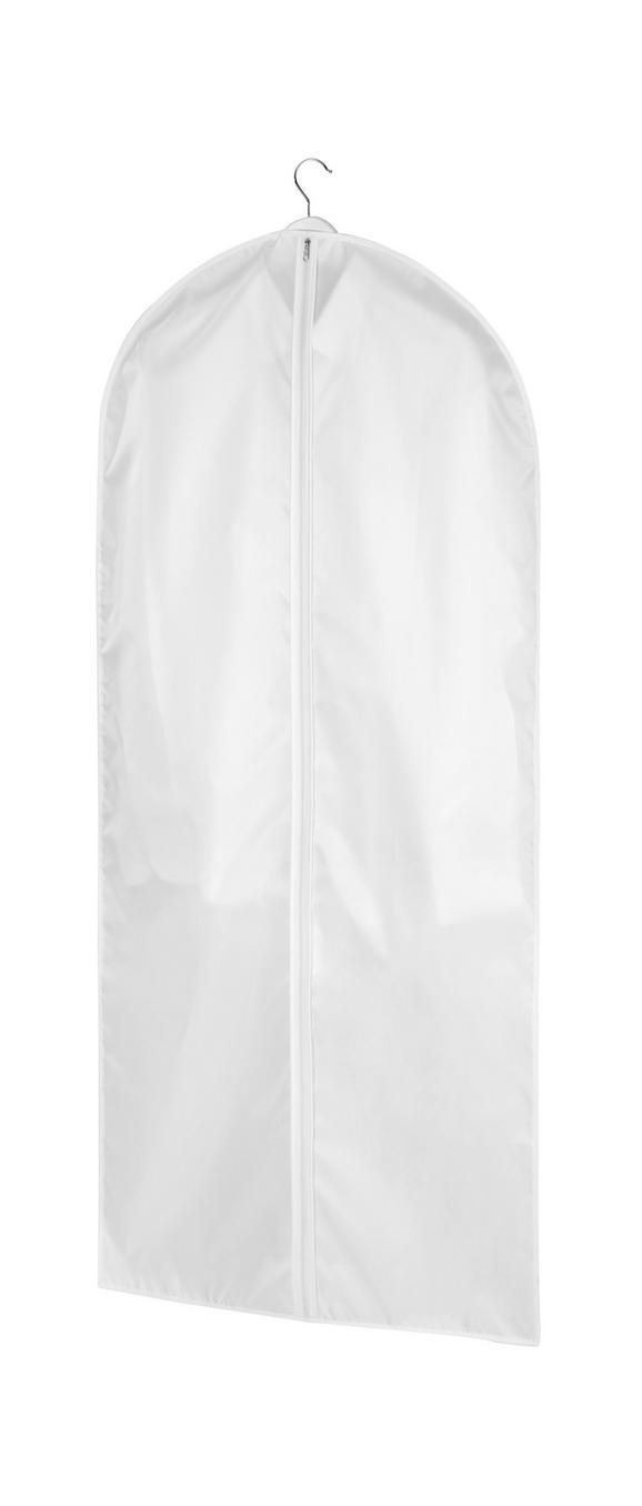 Kleidersack Weiß - Weiß, Textil (60/135cm) - Mömax modern living