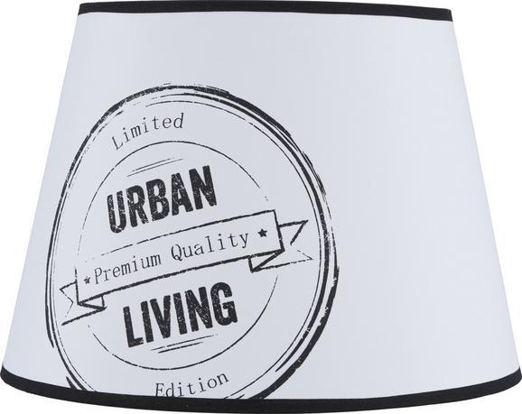 Lámpaernyő Naturelle In Mint - fekete/fehér, modern, textil/fém (25-35/25cm) - MÖMAX modern living