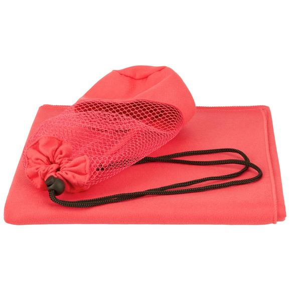 Športna Brisača Dominik - rdeča, tekstil (70/140cm) - Mömax modern living