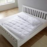 Vierjahreszeiten Steppdecke Irisette 155x220 cm - Weiß, MODERN, Textil (155/220cm) - Irisette