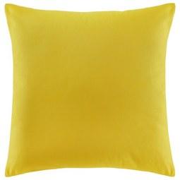 Zierkissen Zippmex in Yellow ca. 50x50cm - Gelb, Textil (50/50cm) - Based