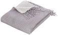 Kuscheldecke Waffel Grau 130x180cm - Grau, Textil (130/180cm) - Mömax modern living