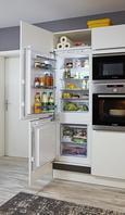 Kotna Kuhinja Feel/portland - siva/bela, leseni material (245/275cm) - Nolte Küchen