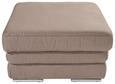 Tabure Victory - krom/bež, Konvencionalno, kovina/tekstil (80/46/80cm) - Premium Living