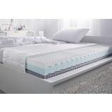 Ležišče 90x200 Cm Premium Pelso - bela, tekstil (90/200cm) - Nadana