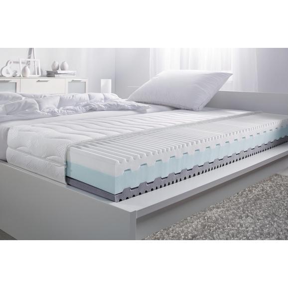 Wendematratze ca. 90x200cm - Weiß, Textil (90/200cm) - Nadana