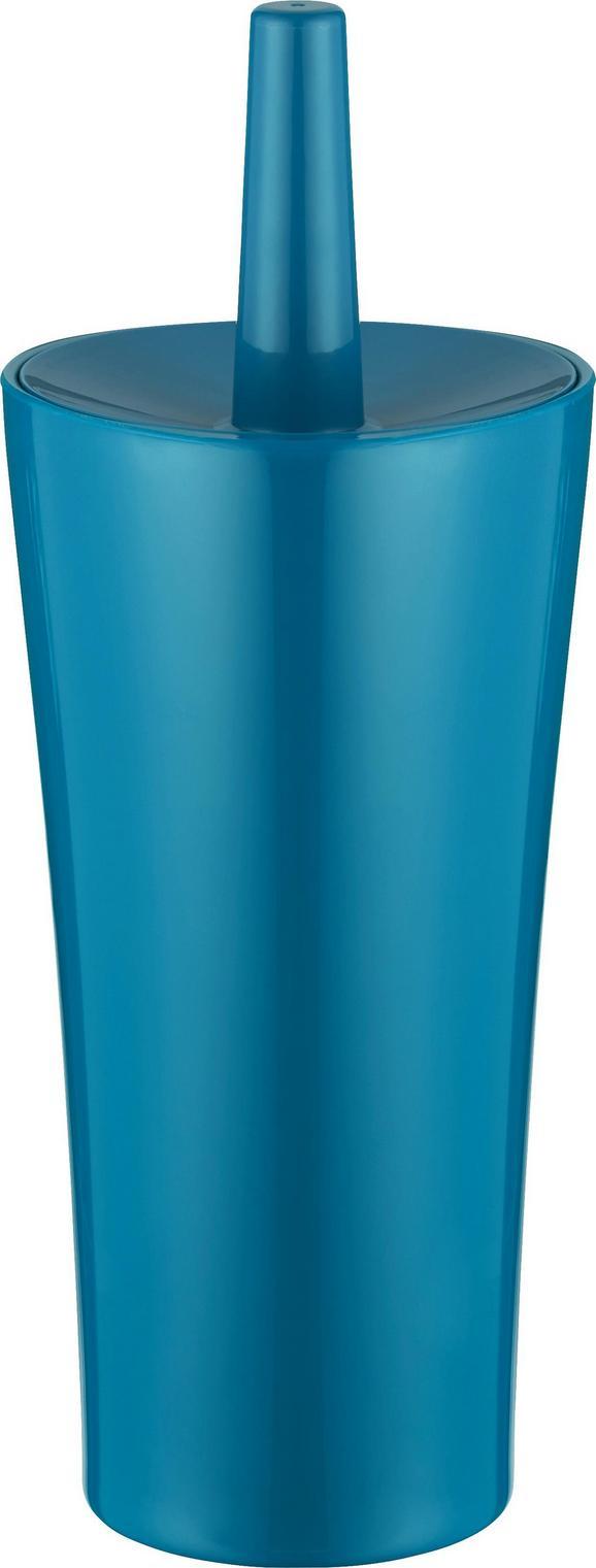 Wc-ščetka Bella - petrolej, umetna masa (12,4/32,5cm) - MÖMAX modern living