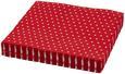 Serviette Mini Dots Rot/Weiß - Rot/Weiß, Papier (33/33cm)