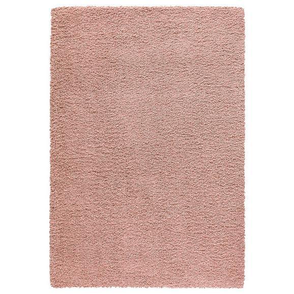Hochflorteppich Dolce ca. 120x170cm - Blau/Altrosa, MODERN, Textil (120/170cm) - Modern Living