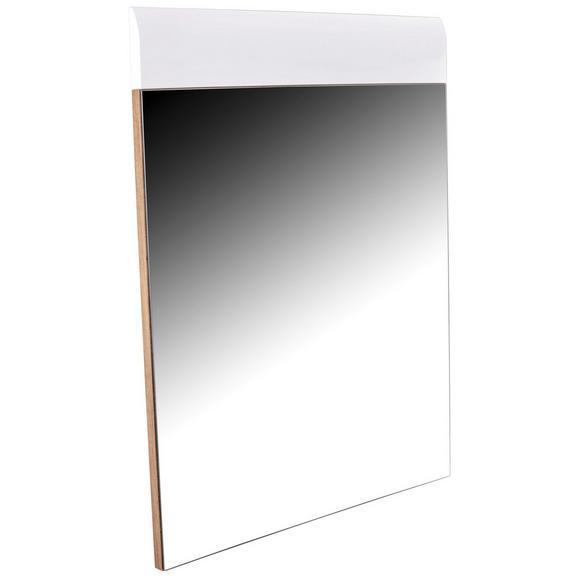 Ogledalo Avensis - bela/hrast, Moderno, leseni material (85/87/2cm) - Mömax modern living