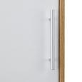 Wandschrank Lilja - Eichefarben/Weiß, MODERN, Holz/Metall (45/80/35cm) - Mömax modern living