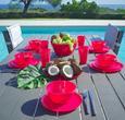 Dessertteller Uni aus Kunststoff in Pink - Pink, Trend, Kunststoff (20cm) - Mömax modern living