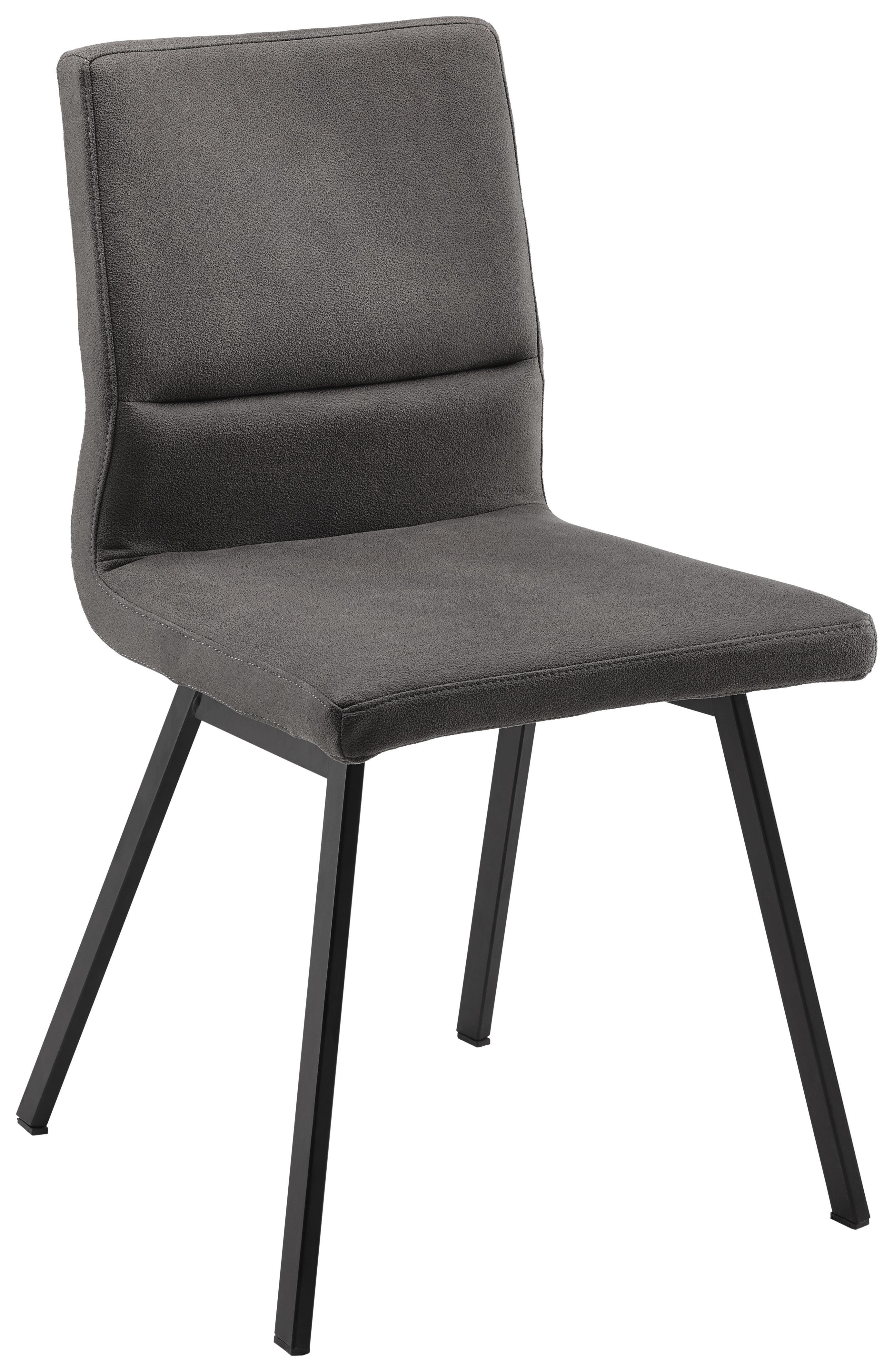 Stuhl In Grau Schwarz Online Kaufen Mömax