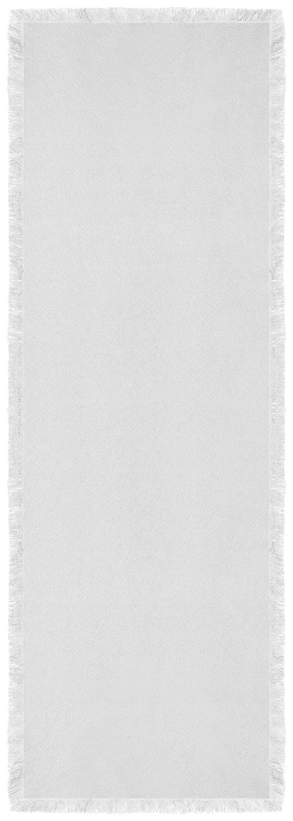 Tischläufer Francis Weiß 45x150cm - Weiß, MODERN, Textil (45/150cm) - Mömax modern living