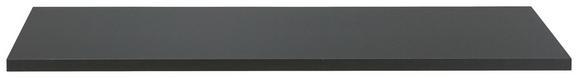 Stenska Polica Bigg -sb- - črna, les (80/1,8/35cm)