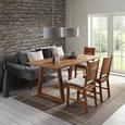 Stuhl in Beige - Beige, KONVENTIONELL, Holz (48/104/48cm) - Zandiara