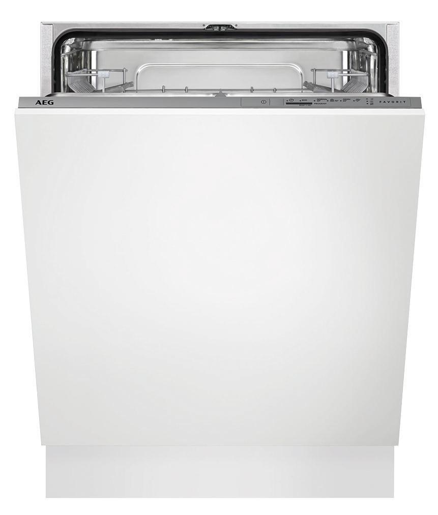 Geschirrspüler AEG Fsb31600z, EEZ A+ - Weiß (59,6/81,8/55cm) - AEG