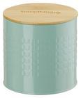 Vorratsdose Stella Mintgrün - Naturfarben/Mintgrün, ROMANTIK / LANDHAUS, Holz/Metall (11/11cm) - Zandiara
