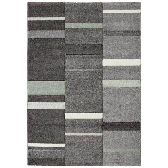 Tkana Preproga Sofia 3 - siva/zelena, tekstil (160/230cm) - Mömax modern living