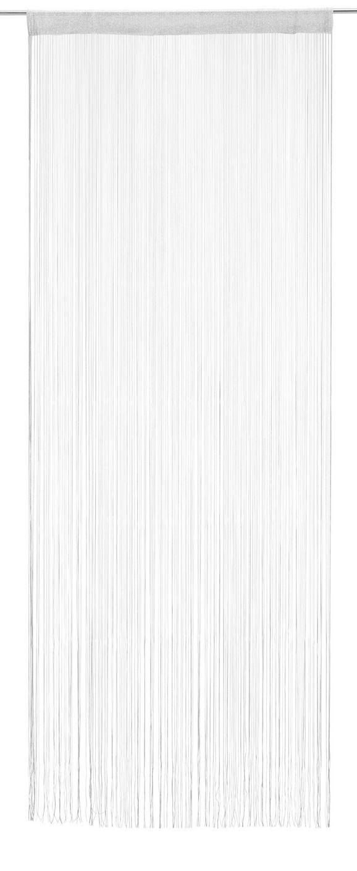 Nitasta Zavesa Metallic - svetlo modra/siva, Trendi, tekstil (90/245cm) - Mömax modern living