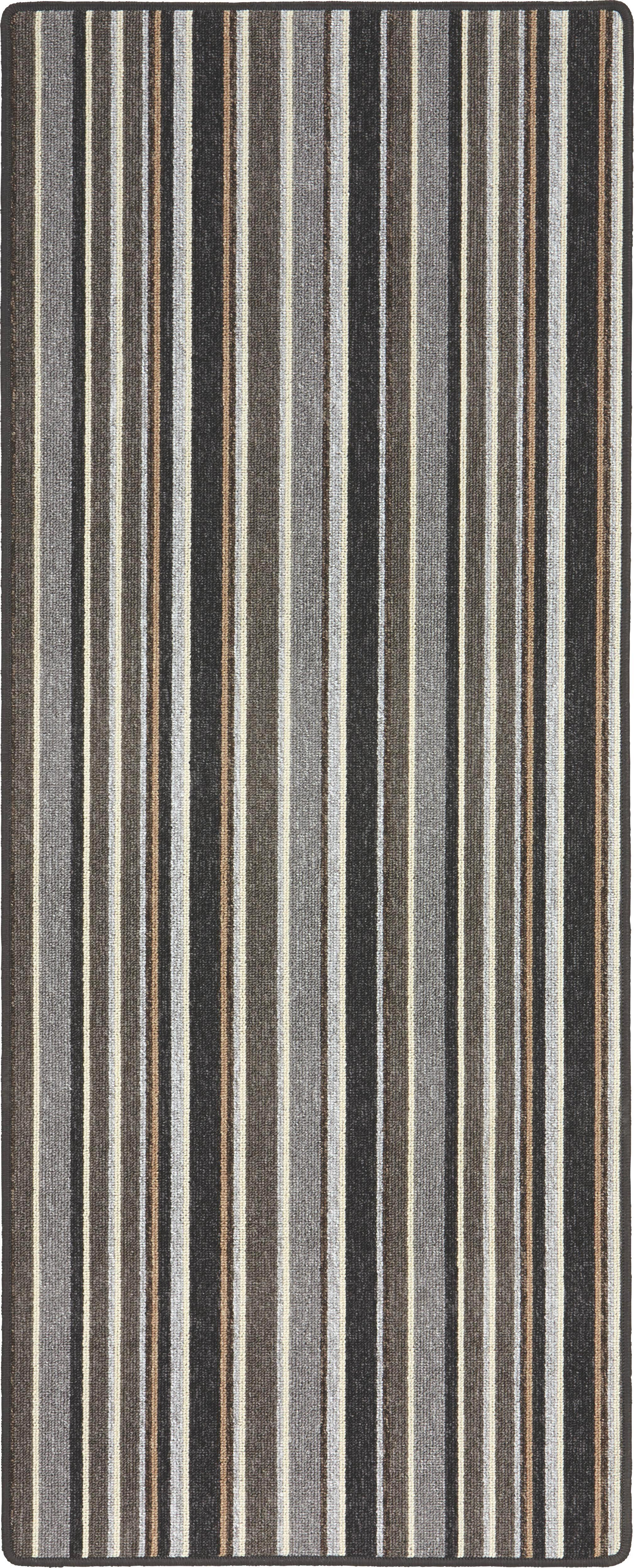 Futó Funky Stripes - szürke, konvencionális, textil (80/200cm) - MÖMAX modern living