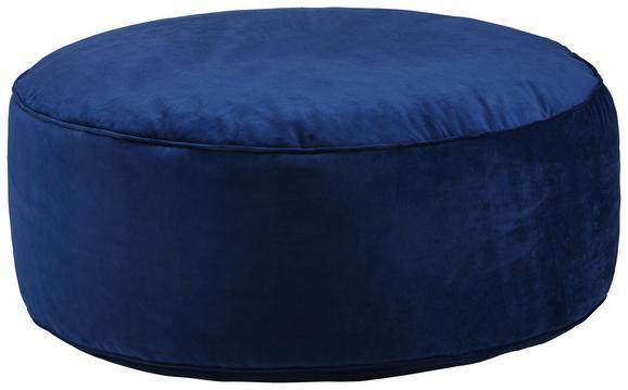 Pouf Tutti Blau - Blau, LIFESTYLE, Textil (80/30cm) - Modern Living